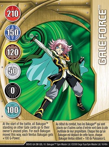 Galeforce16 48n Bakugan 1 48n Card Set