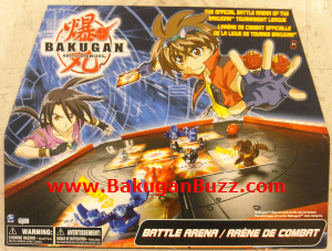Bakugan Battle Arena Bakugan Battle Arenas