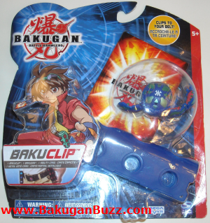 Aquos New Bakuclip Bakugan Bakubelt and Bakuclips