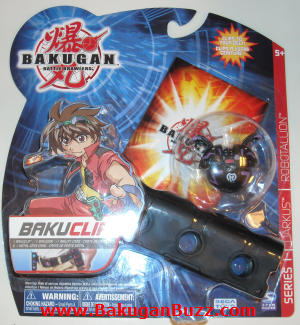 Bakuclip   Darkus Bakugan Bakubelt and Bakuclips