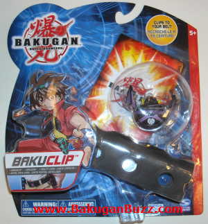 Darkus New Bakuclip Bakugan Bakubelt and Bakuclips