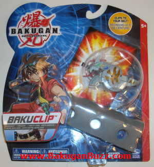 Haos New Bakuclip Bakugan Bakubelt and Bakuclips