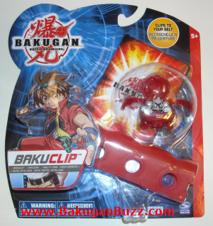 Pyrus New Bakuclip Bakugan Bakubelt and Bakuclips