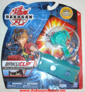Ventus New Bakuclip Bakugan Bakubelt and Bakuclips