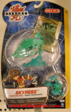 Target Character Pack Skyress Bakugan Character Packs
