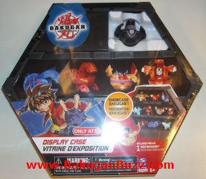 Darkus Sirenoid Display Case Bakugan Display Cases