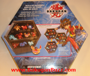 Display Case Back Bakugan Display Cases