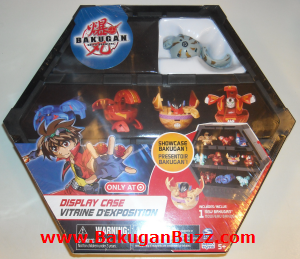 Haos Rattleoid Display Case Bakugan Display Cases