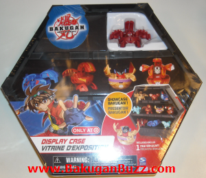 Pyrus Blade Tigrerra Display Case Bakugan Display Cases