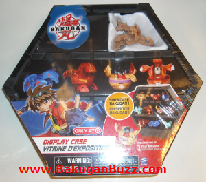 Subterra Storm Skyress Display Case Bakugan Display Cases