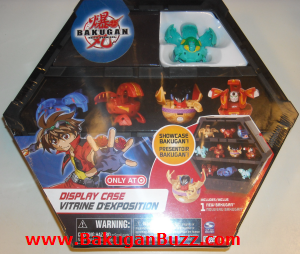 Ventus Harpus Display Case Bakugan Display Cases