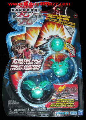 Series 1 Ventus Starter Pack Bakugan Starter Packs