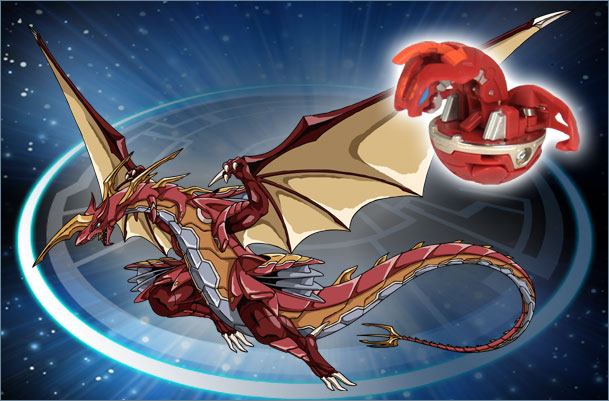 BK CD DeltaDragonoidII Delta Dragonoid II Bakugan