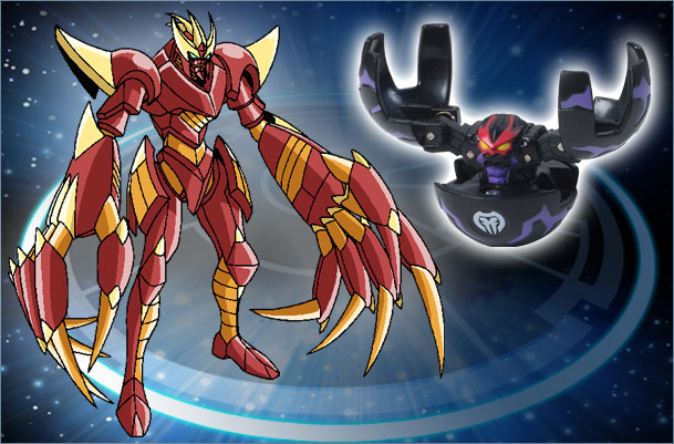 BK CD FearRipper Fear Ripper Bakugan