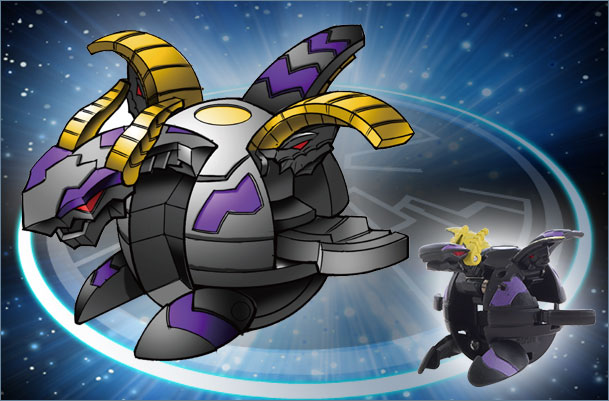 BK CD MidnightPercival Midnight Percival Bakugan