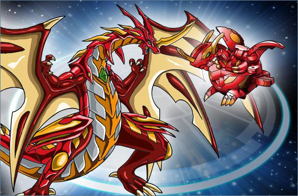BK CD NeoDragonoid Neo Dragonoid Bakugan