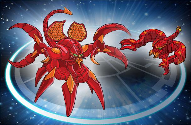 BK CD Scorpion Scorpion Trap Bakugan