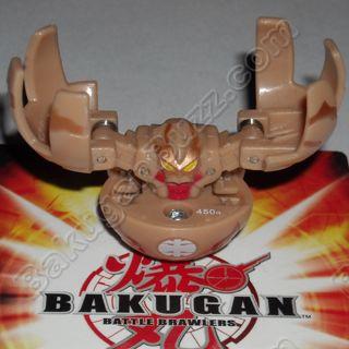 RARE LIMITED EDITION HAOS Bakugan Classic Series 1 Gold Fear Ripper NEW!