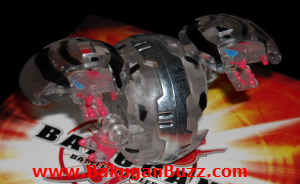 Hydranoid   Clear Darkus Special Attack Dual Hydranoid Bakugan