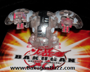 Hydranoid   Clear Haos Special Attack Dual Hydranoid Bakugan