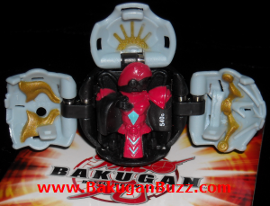 Lars Lion   Dual Attribute Haos Darkus Dual Attribute ( Swap ) Bakugan