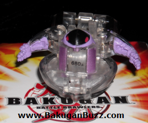Preyas   Clear Darkus G Power Change Special Attack Preyas Bakugan