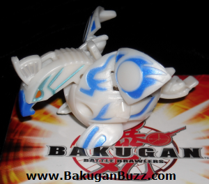 Skyress   Pearl White Aquos Jumping Special Attack Skyress Bakugan