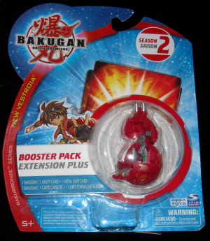 BakuBronze Booster Pack Bakugan Series