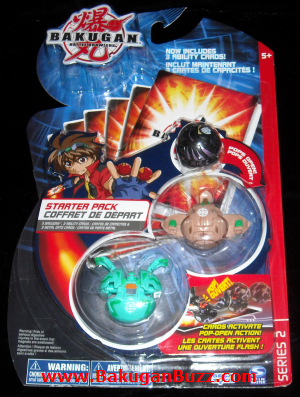 Bakugan Starter Pack   Series 2 Bakugan Starter Packs