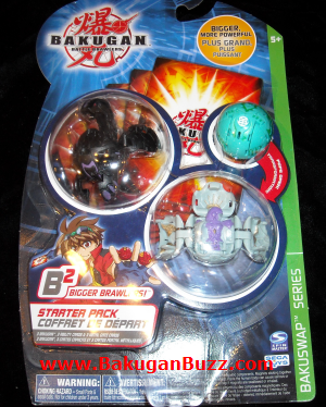 Bakuswap starter Bakugan Starter Packs