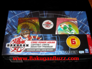 Card Power House Bakugan Cards