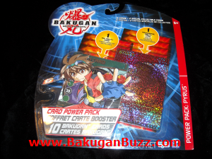 Card Power Pack   pyrus Bakugan Cards