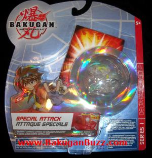 Delta Dragonoid II clear ventus Bakugan Special Attack Booster Packs