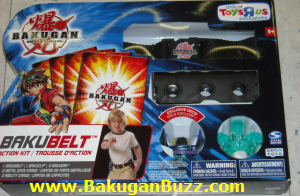 New Bakubelt Bakugan Bakubelt and Bakuclips