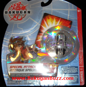 Preyas   clear darkus g power changing Bakugan Special Attack Booster Packs