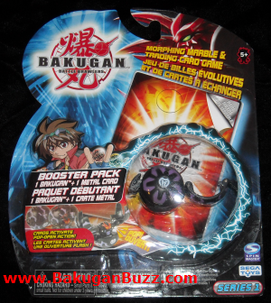 Series 1 Booster Pack Bakugan Series