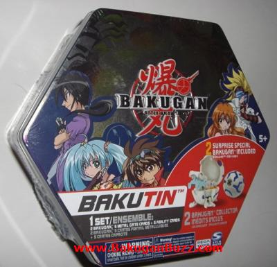 bluetinF Bakugan Bakutins