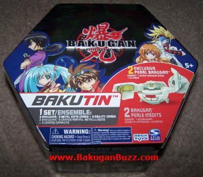 greentinF Bakugan Bakutins