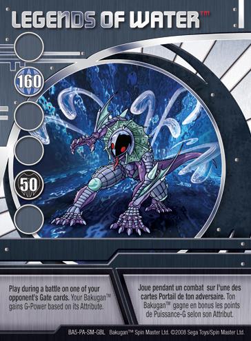 BA5 LegendsofWater Bakugan Promo Card Set