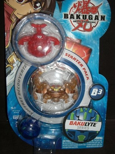 BakuLyte StarterPack Bakugan BakuLyte Packs