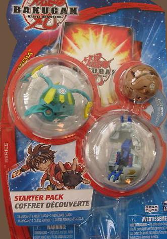 BakuSteel StarterPack Bakugan Starter Packs