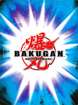 battlegear card back Bakugan Cards
