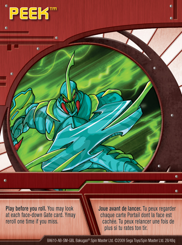 28q Peek Bakugan 1 48q Card Set 1