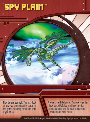 28q Spy Plain Bakugan 1 48q Card Set 2