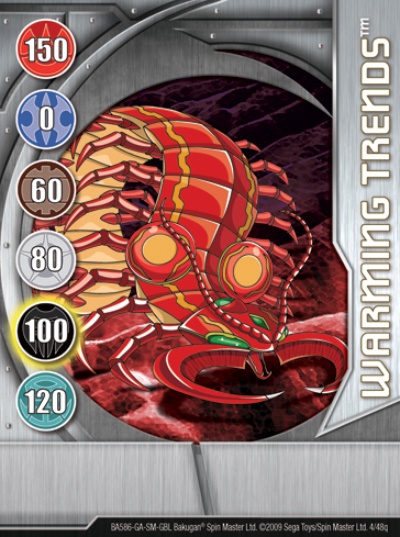 4q Warming Trends Bakugan 1 48q Card Set 1