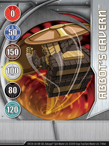 7ah Abbots Cavern Bakugan 1 48ah Card Set