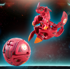 Helix Dragonoid Helix Dragonoid Bakugan