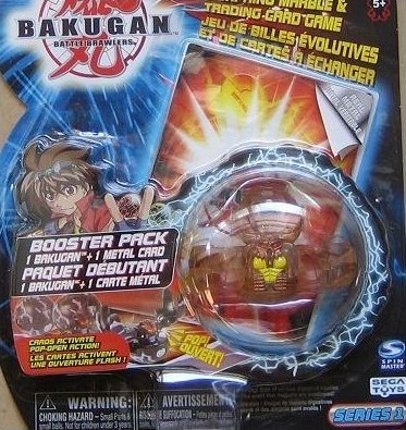 Series1 BoosterPack Bakugan Original Series 1 Packs