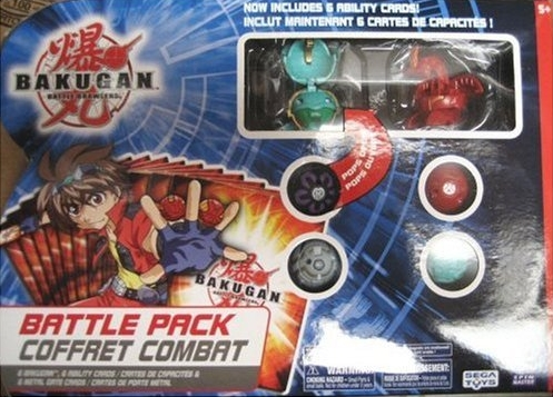 Series2 BattlePack Bakugan Battle Pack