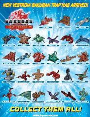 bakugan traps Bakugan Posters